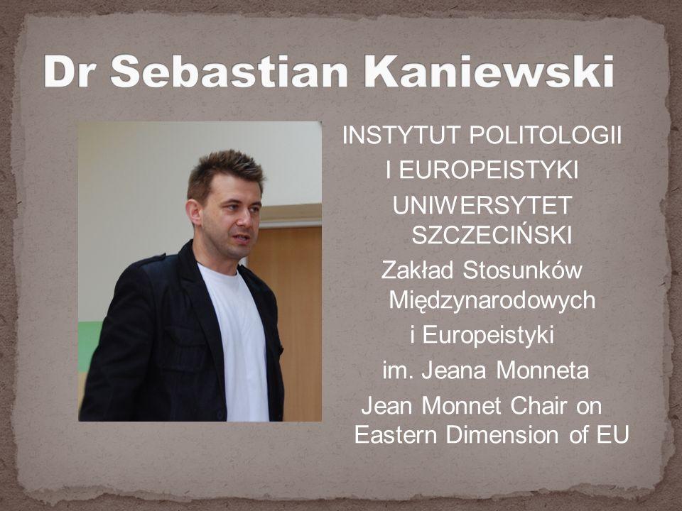 Dr Sebastian Kaniewski