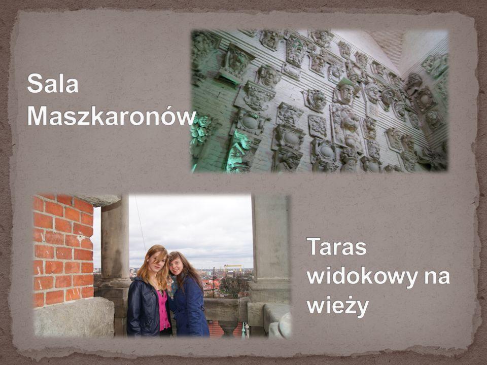Sala Maszkaronów Taras widokowy na wieży