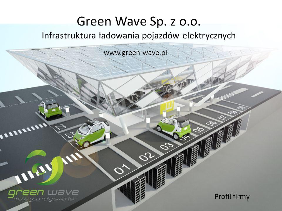 Green Wave Sp. z o.o. Infrastruktura ładowania pojazdów elektrycznych