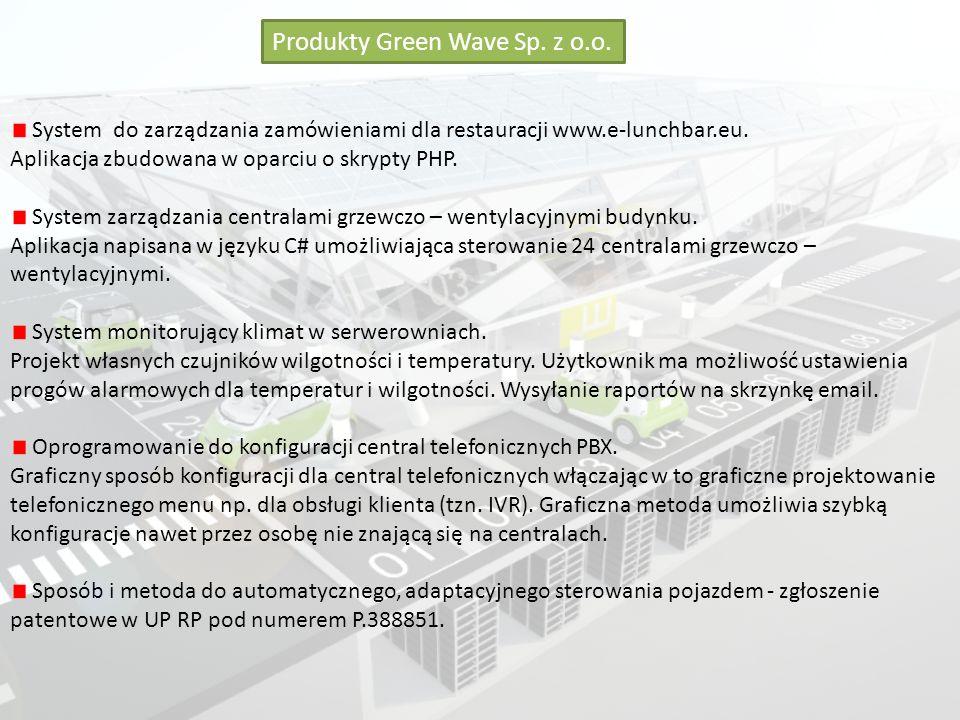Produkty Green Wave Sp. z o.o.