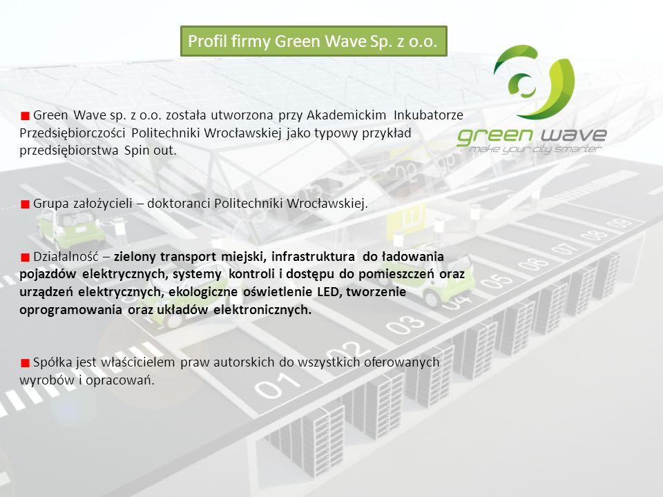 Profil firmy Green Wave Sp. z o.o.