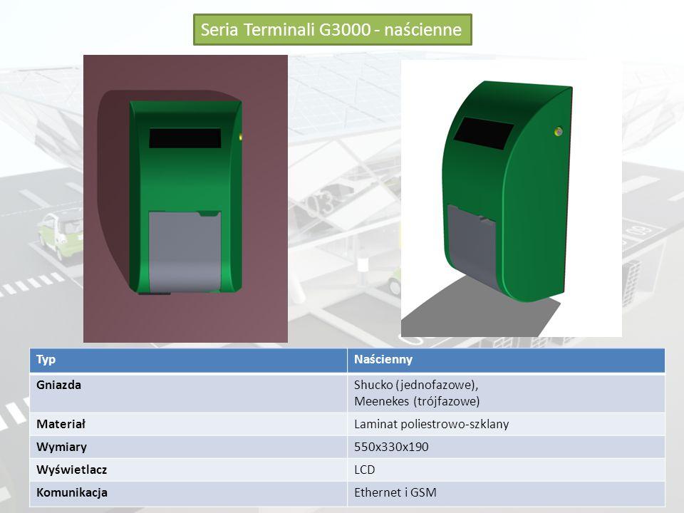 Seria Terminali G3000 - naścienne