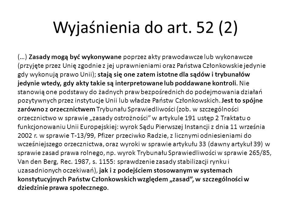 Wyjaśnienia do art. 52 (2)