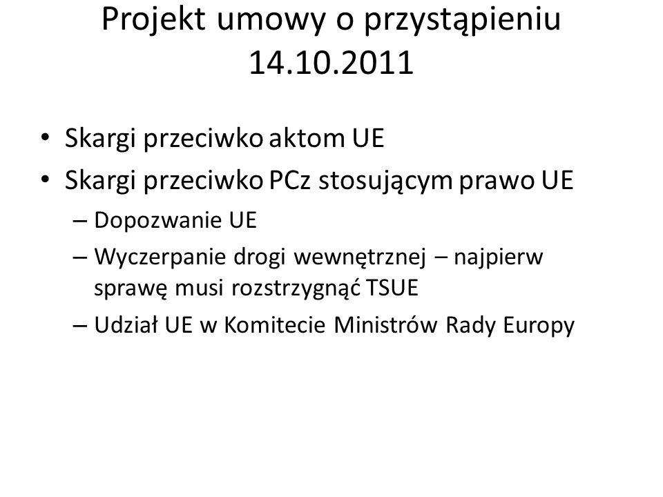 Projekt umowy o przystąpieniu 14.10.2011