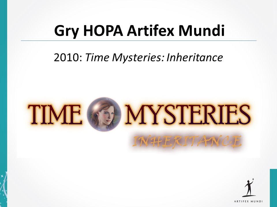 2010: Time Mysteries: Inheritance