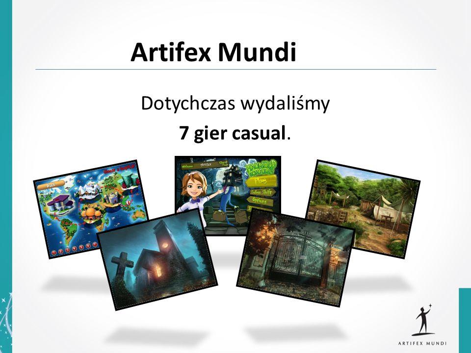 Artifex Mundi Dotychczas wydaliśmy 7 gier casual.