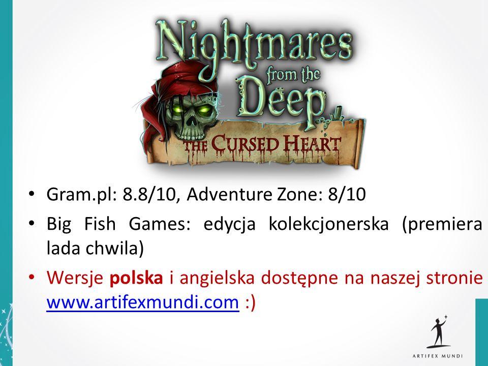 Gram.pl: 8.8/10, Adventure Zone: 8/10