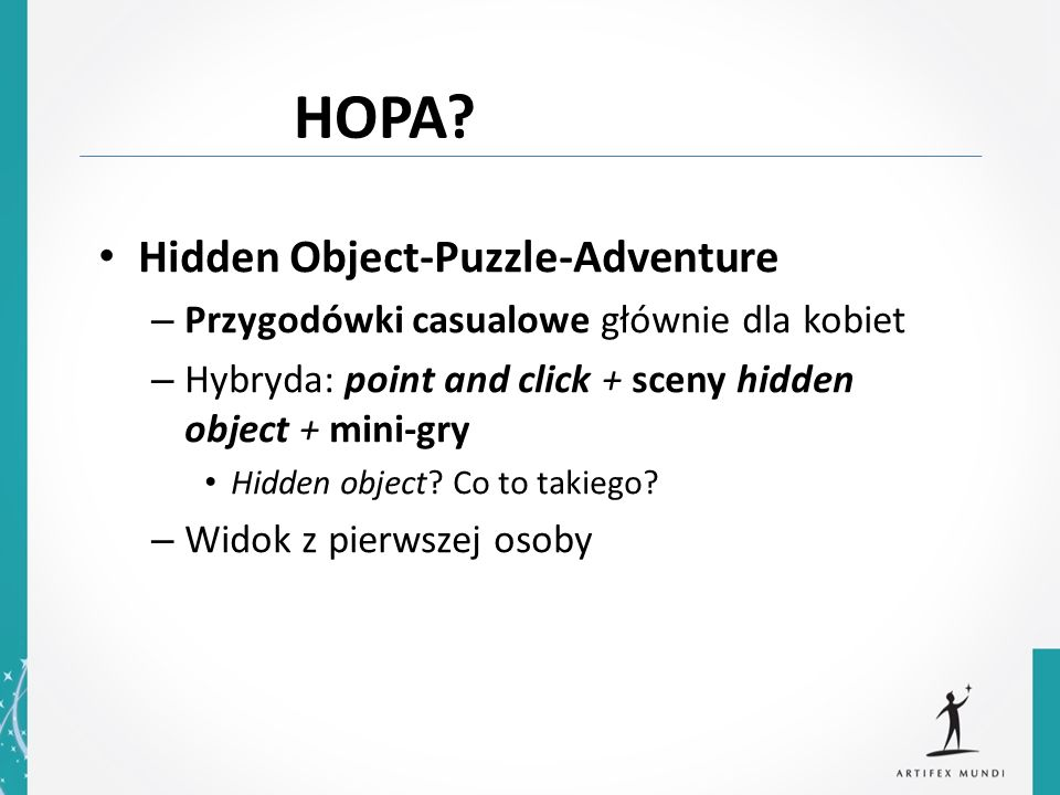 HOPA Hidden Object-Puzzle-Adventure