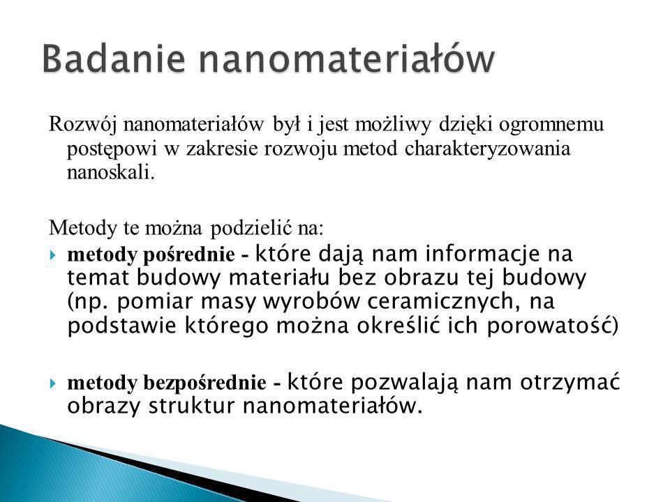 Badanie nanomateriałów