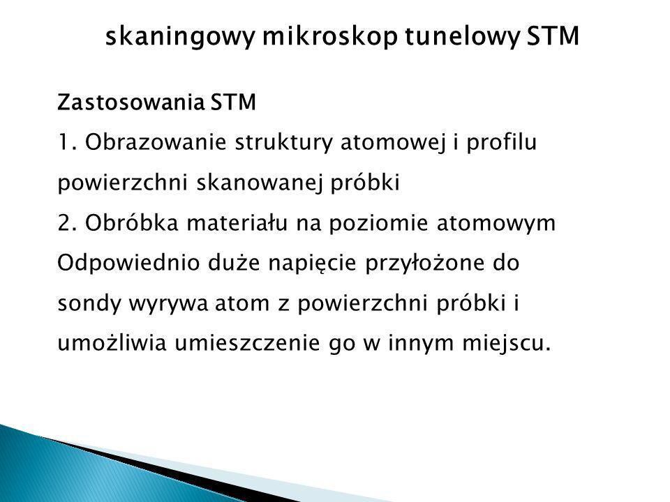 skaningowy mikroskop tunelowy STM