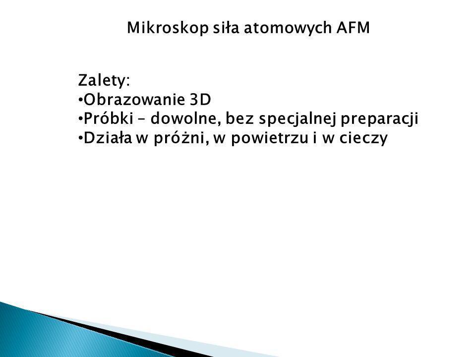 Mikroskop siła atomowych AFM