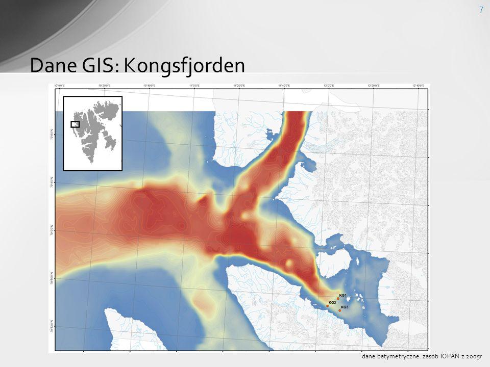 Dane GIS: Kongsfjorden