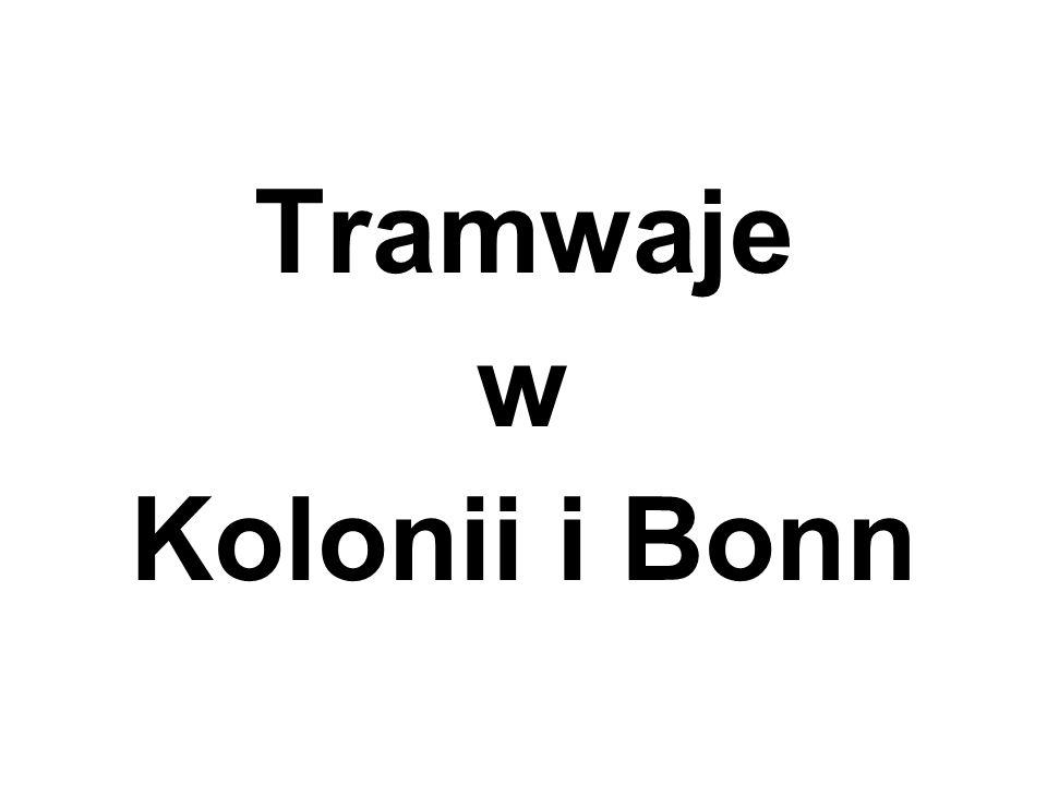 Tramwaje w Kolonii i Bonn