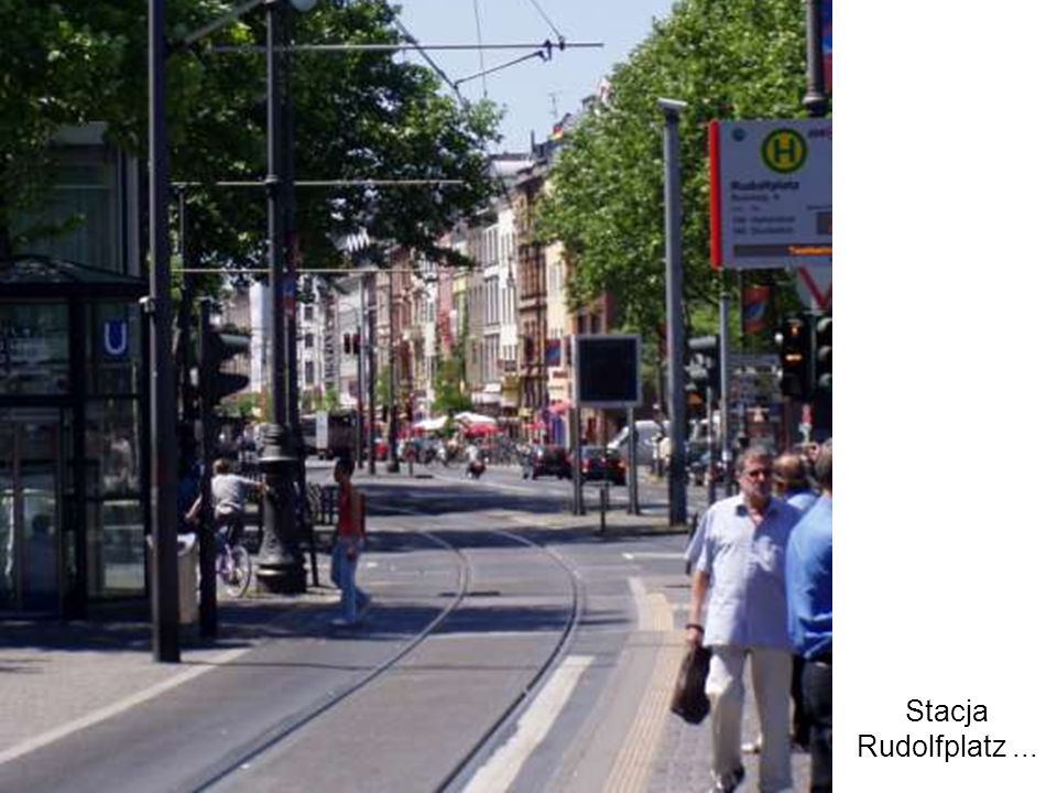 Stacja Rudolfplatz ...