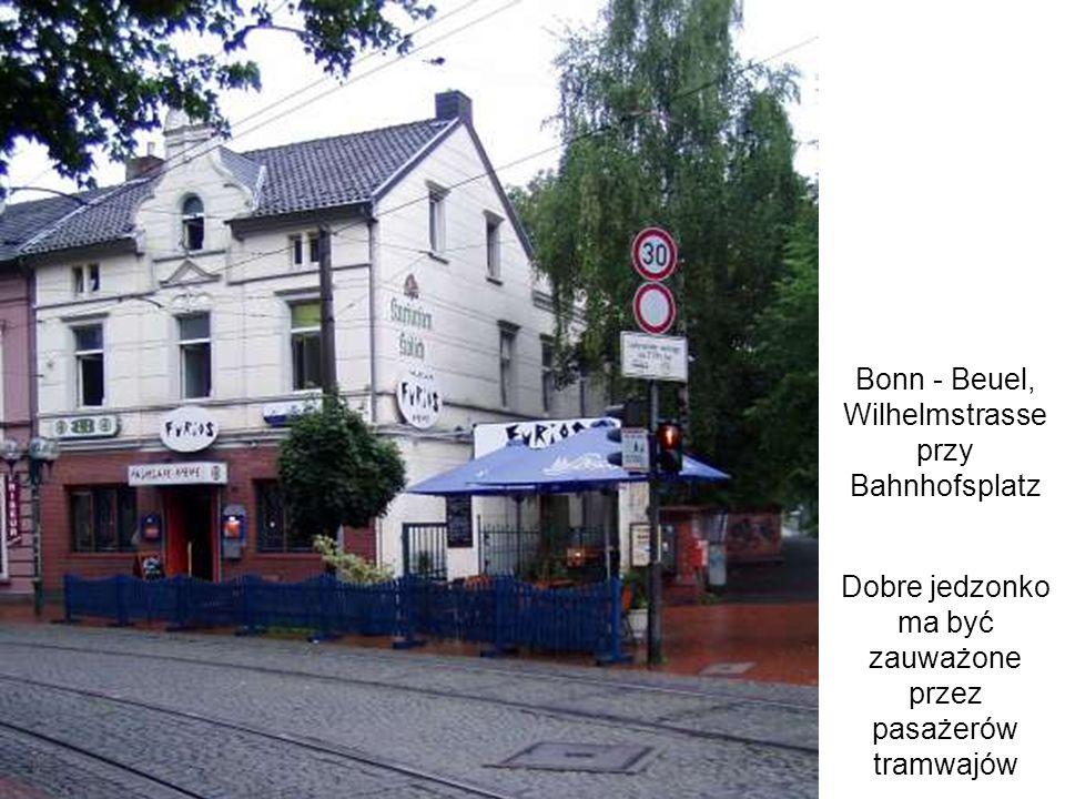 Bonn - Beuel, Wilhelmstrasse przy Bahnhofsplatz