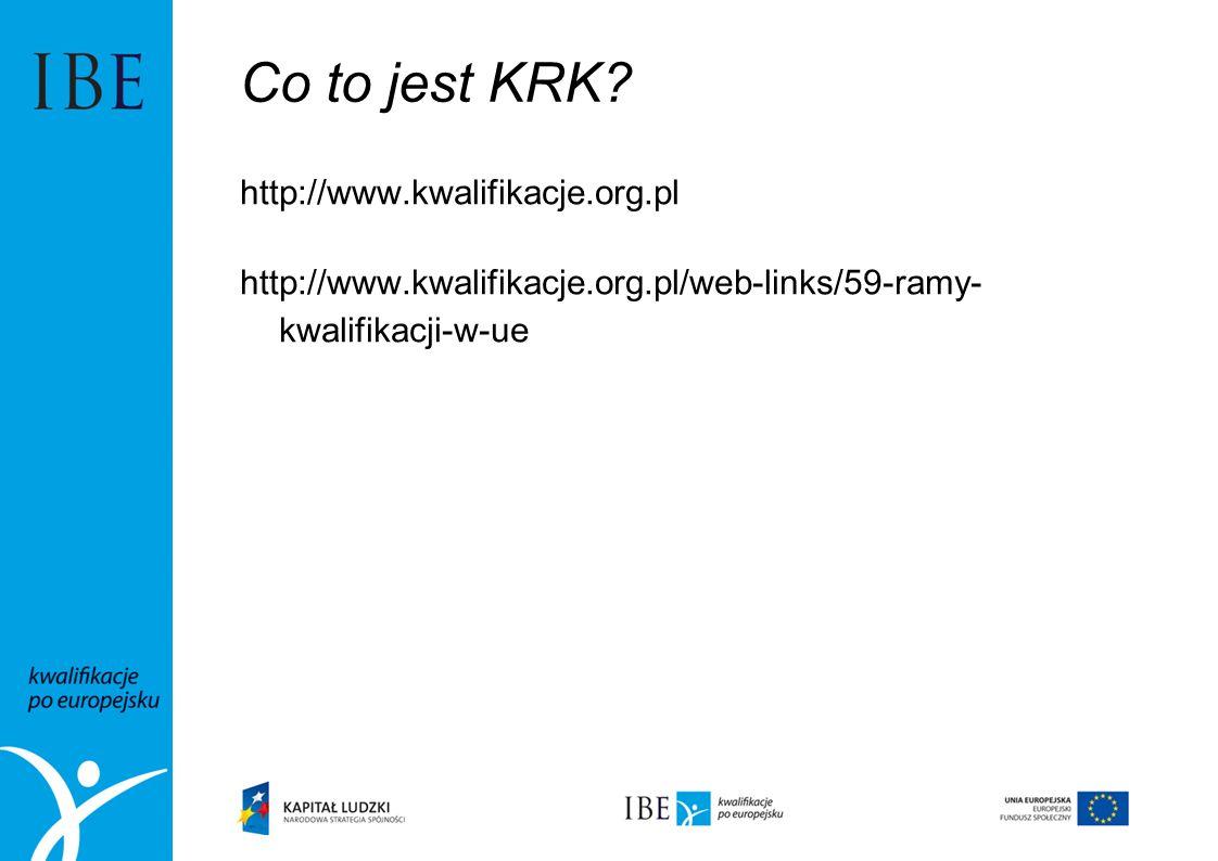Co to jest KRK http://www.kwalifikacje.org.pl