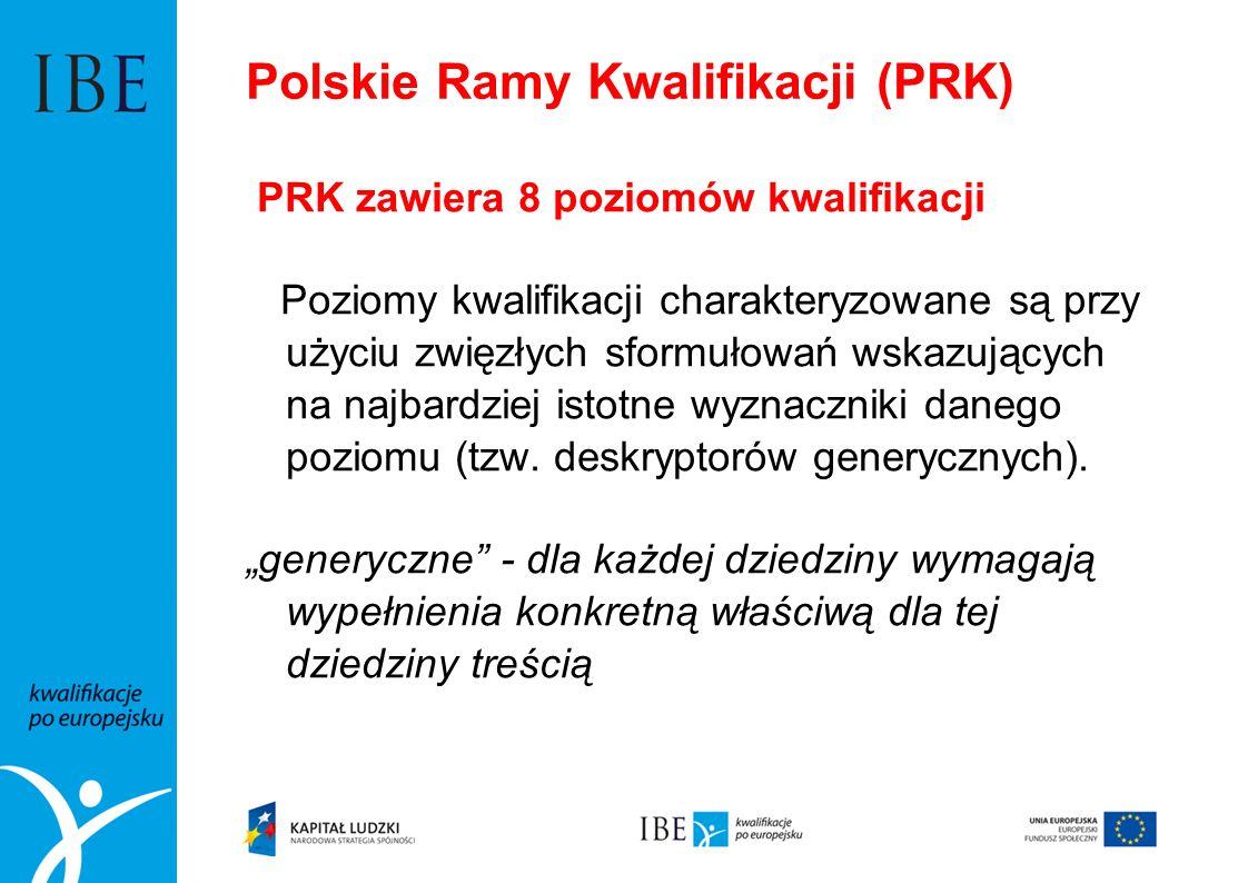 Polskie Ramy Kwalifikacji (PRK)