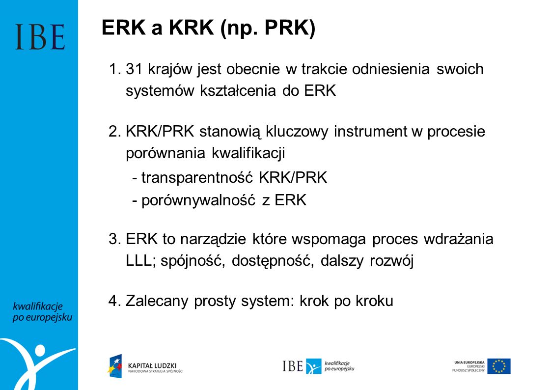 ERK a KRK (np. PRK)