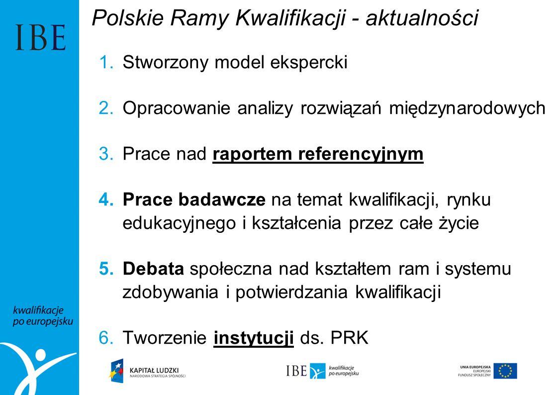 Polskie Ramy Kwalifikacji - aktualności