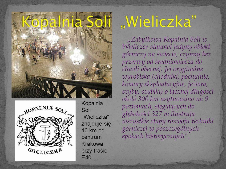 """Kopalnia Soli """"Wieliczka"""