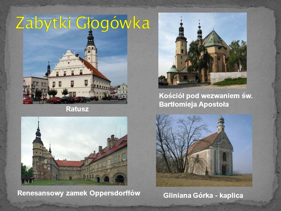 Zabytki Głogówka Kościół pod wezwaniem św. Bartłomieja Apostoła Ratusz