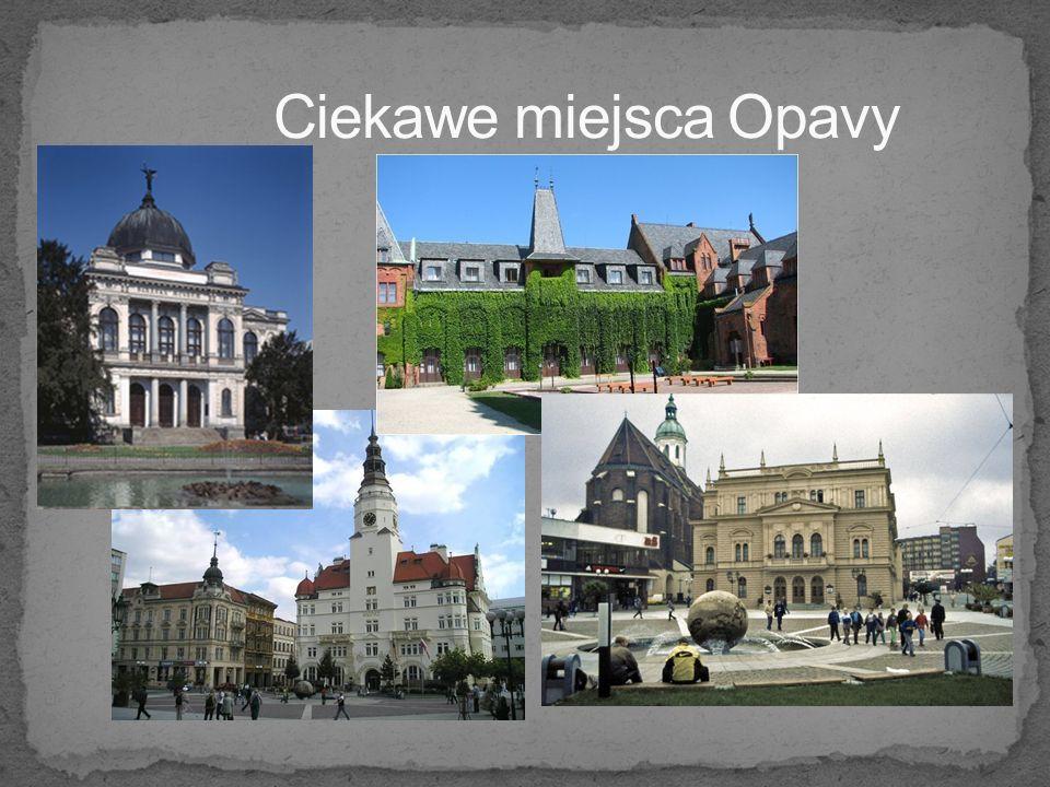 Ciekawe miejsca Opavy