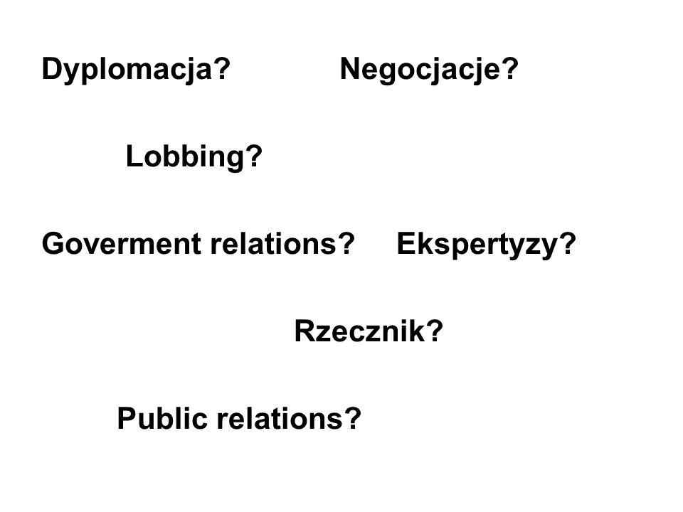 Dyplomacja Negocjacje