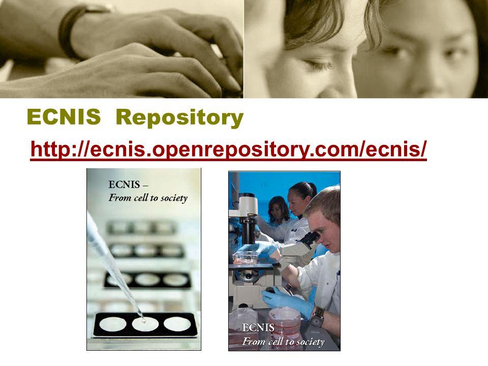 ECNIS Repository http://ecnis.openrepository.com/ecnis/