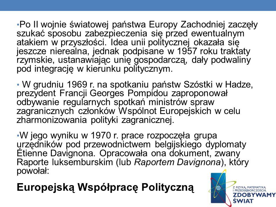 Europejską Współpracę Polityczną