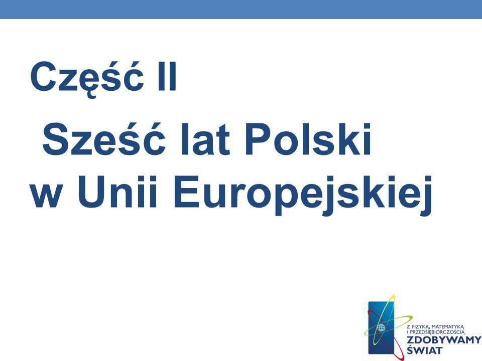 Sześć lat Polski w Unii Europejskiej
