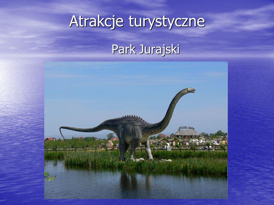 Atrakcje turystyczne Park Jurajski