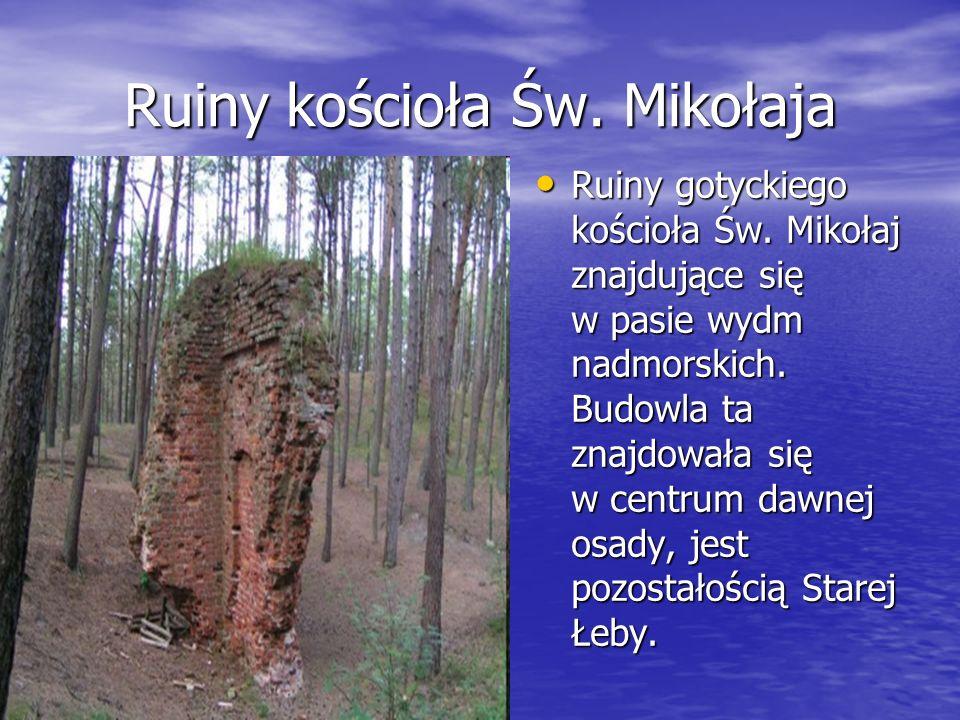 Ruiny kościoła Św. Mikołaja