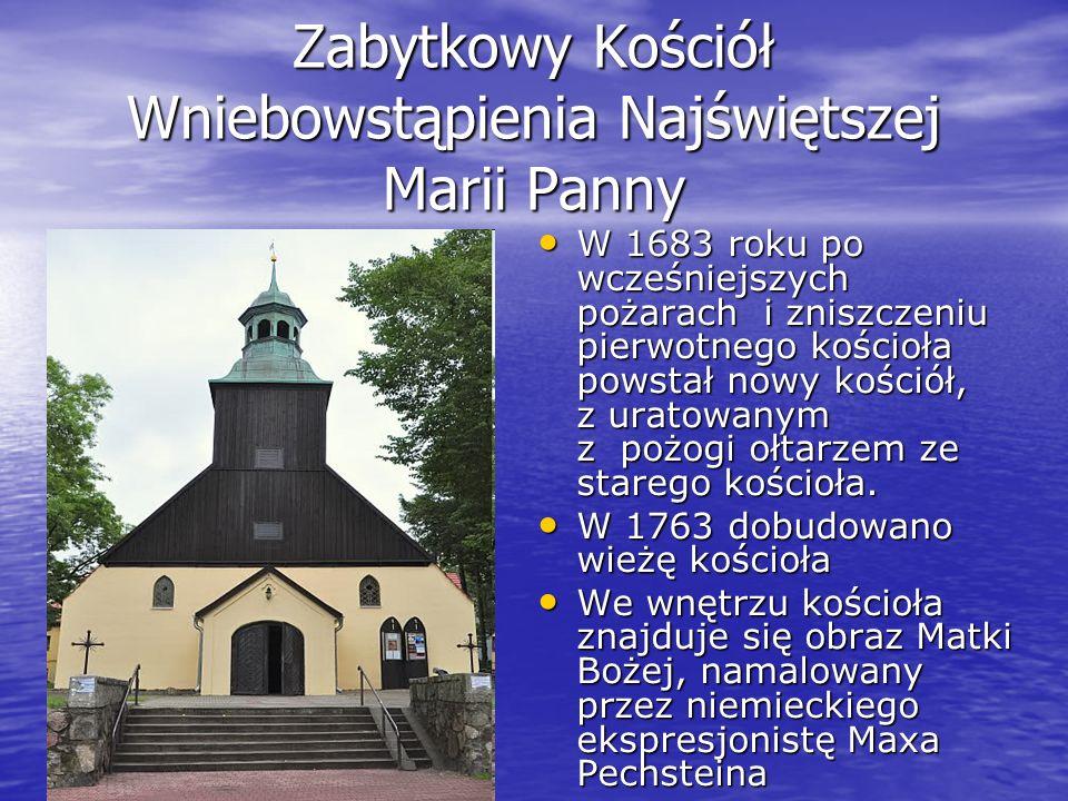 Zabytkowy Kościół Wniebowstąpienia Najświętszej Marii Panny