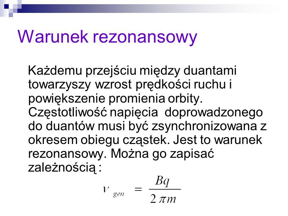 Warunek rezonansowy