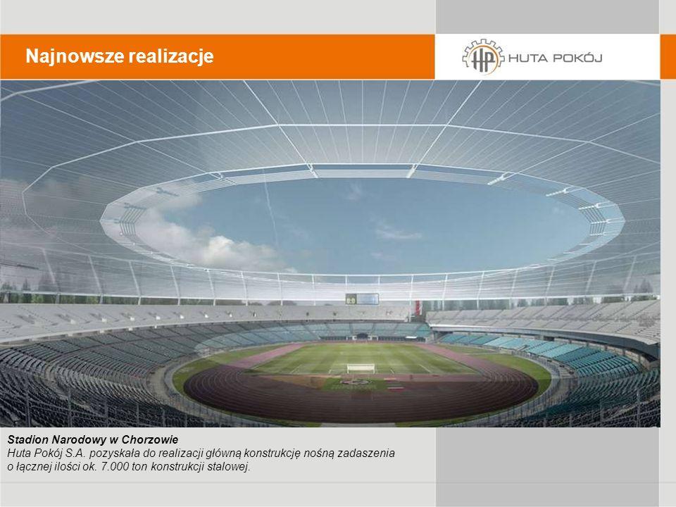 Najnowsze realizacje Stadion Narodowy w Chorzowie