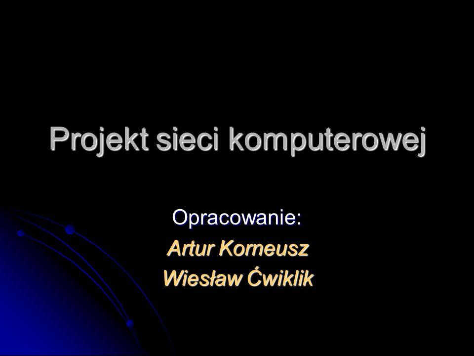 Projekt sieci komputerowej