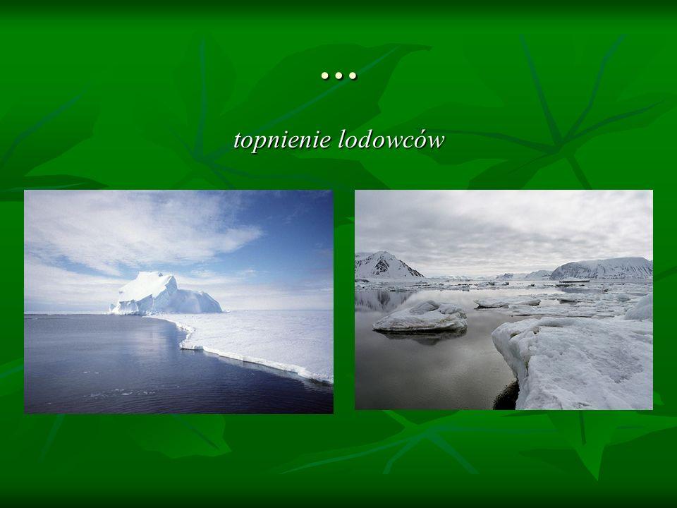 … topnienie lodowców