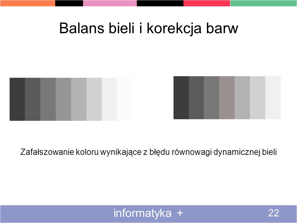 Balans bieli i korekcja barw