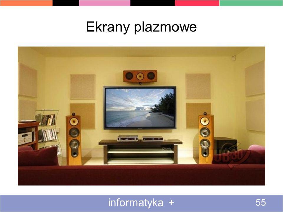 Ekrany plazmowe informatyka + Wady paneli plazmowych
