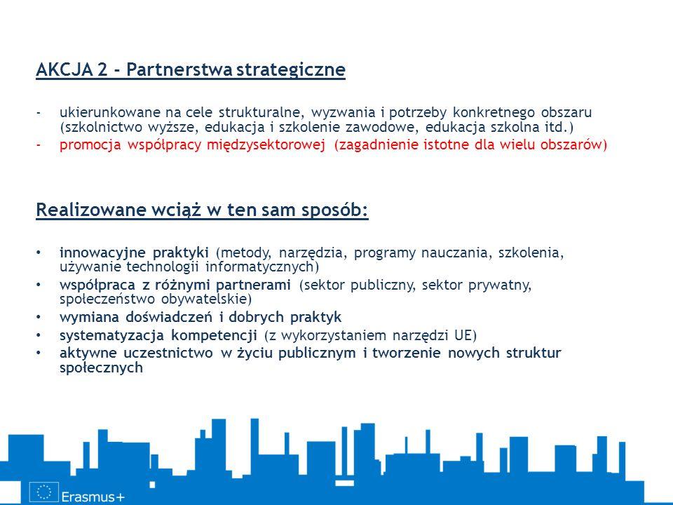 AKCJA 2 - Partnerstwa strategiczne