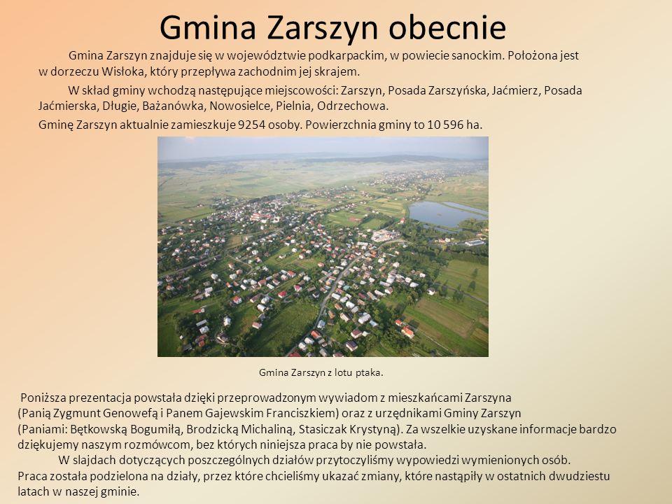 Gmina Zarszyn obecnie