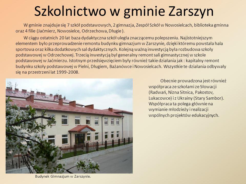 Szkolnictwo w gminie Zarszyn