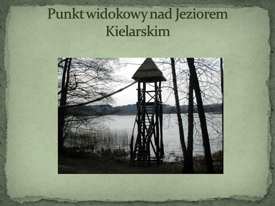 Punkt widokowy nad Jeziorem Kielarskim
