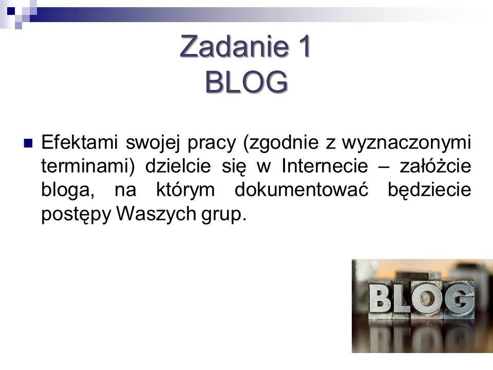 Zadanie 1 BLOG.