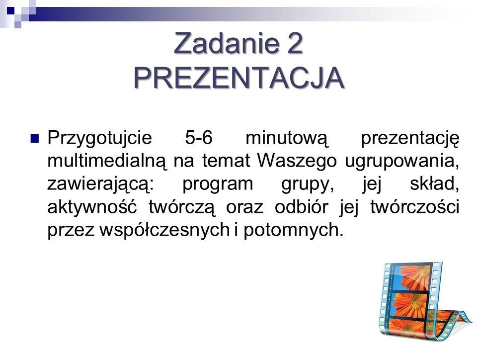 Zadanie 2 PREZENTACJA