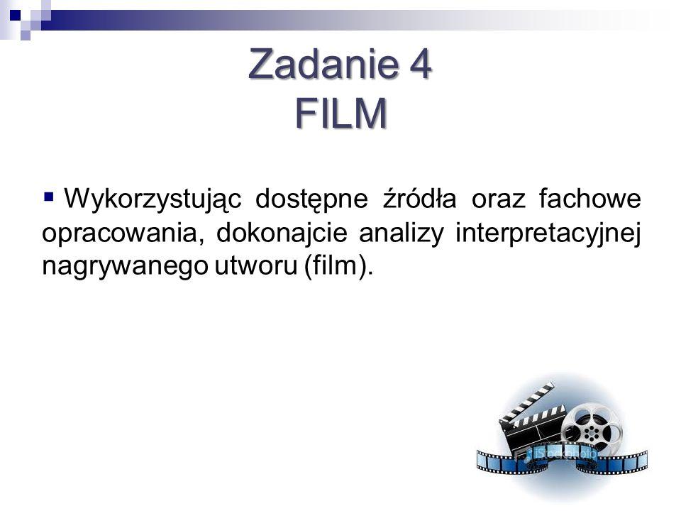 Zadanie 4 FILM.