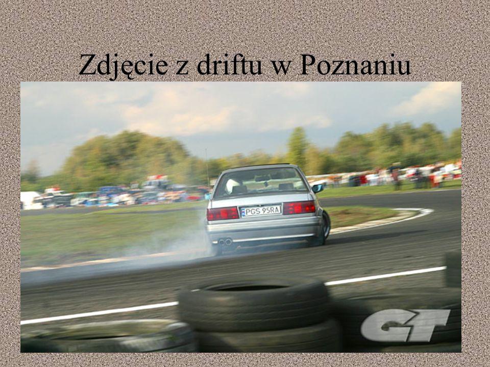 Zdjęcie z driftu w Poznaniu