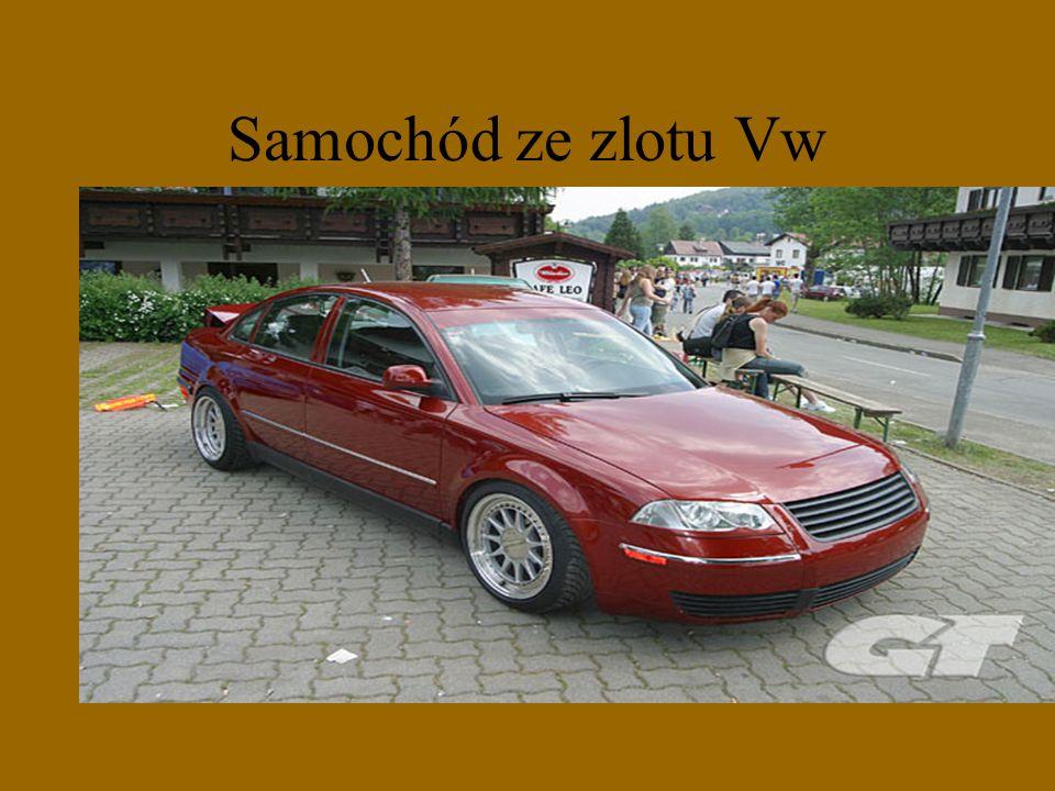 Samochód ze zlotu Vw