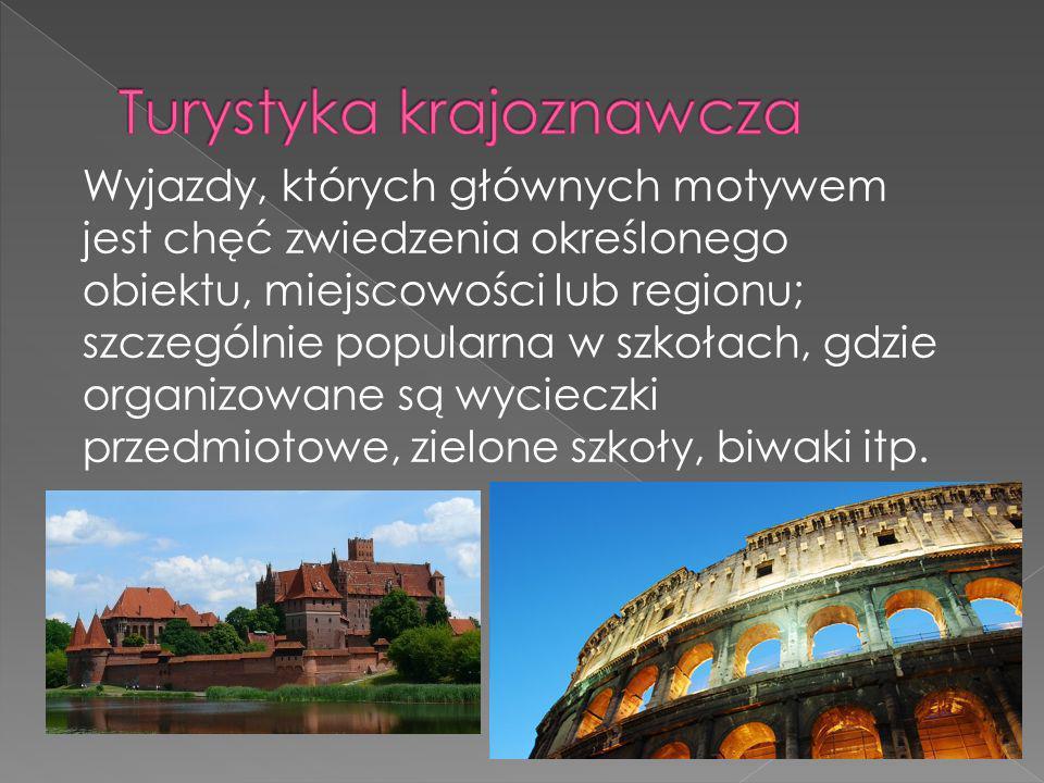 Turystyka krajoznawcza