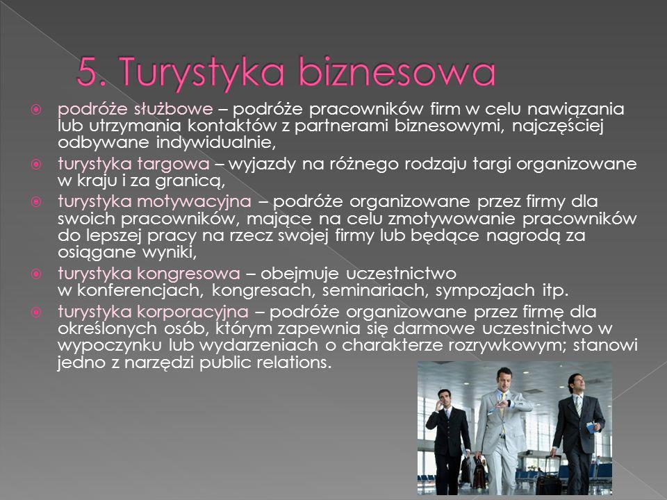 5. Turystyka biznesowa